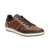 Ležérní kožené tenisky bata, hnědá, 844-4622 - 13