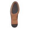 Černé kožené polobotky s výrazným obšitím bata, černá, 824-6684 - 26