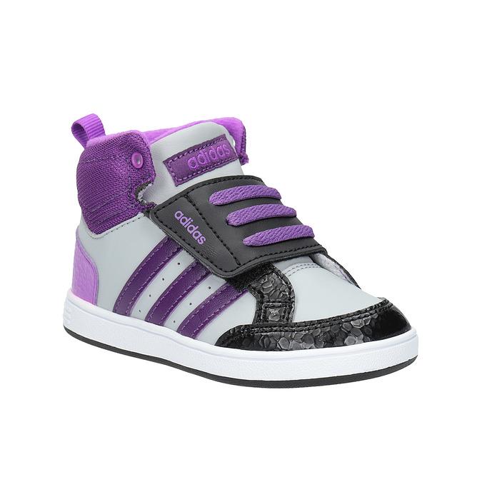 Dětské kotníčkové tenisky adidas, fialová, 101-2231 - 13