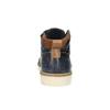 Kožené kotníčkové tenisky pánské bata, modrá, 846-9606 - 17