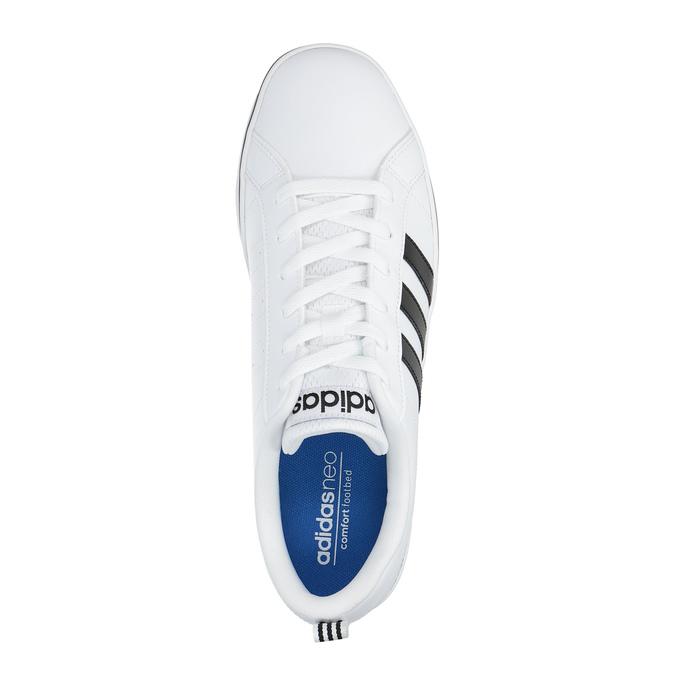 Pánské bílé tenisky adidas, bílá, 801-1188 - 19