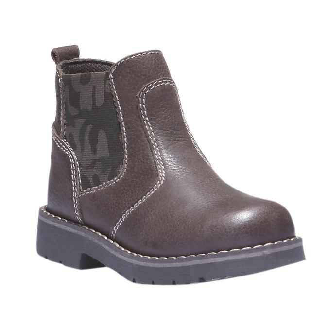 Dětské vysoké kožené boty mini-b, 2019-214-4137 - 13