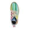 Barevná kotníčková obuv na průhledné podešvi weinbrenner, 596-3640 - 19