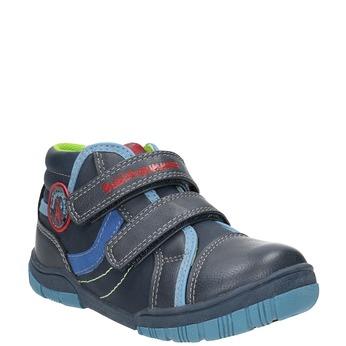 Dětská kotníčková obuv mini-b, modrá, 211-9605 - 13
