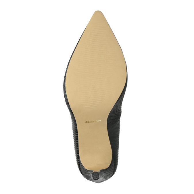 Lodičky na jehlovém podpatku bata, černá, 721-6601 - 26
