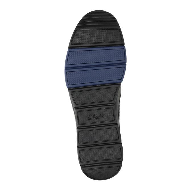 Ležérní kožené polobotky clarks, černá, 824-6002 - 26