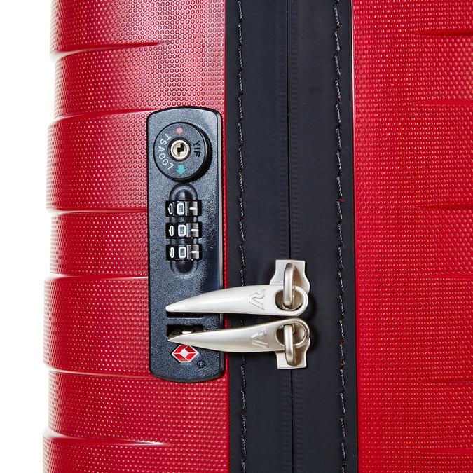 Cestovní kufr na kolečkách červený roncato, červená, 960-5605 - 17