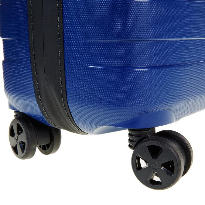 Modrý kufr na kolečkách roncato, modrá, 960-9605 - 19