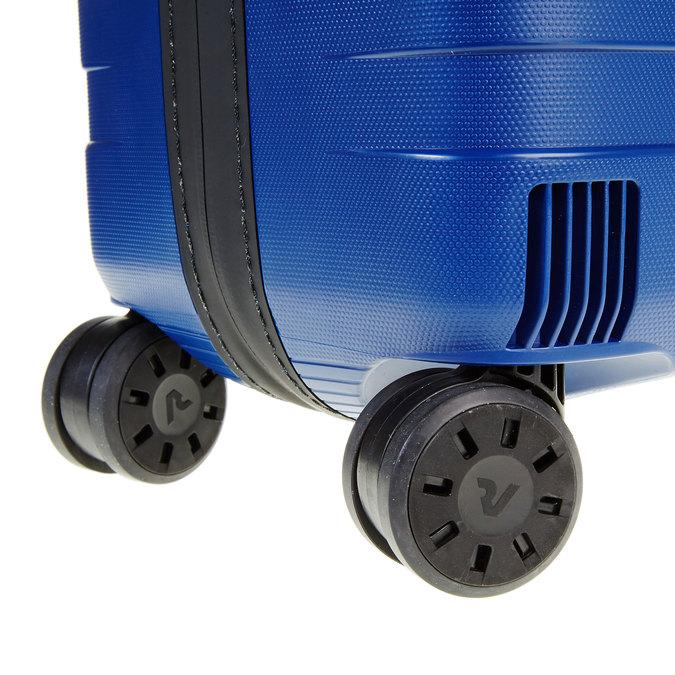 Modrý kufr na kolečkách roncato, modrá, 960-9604 - 19