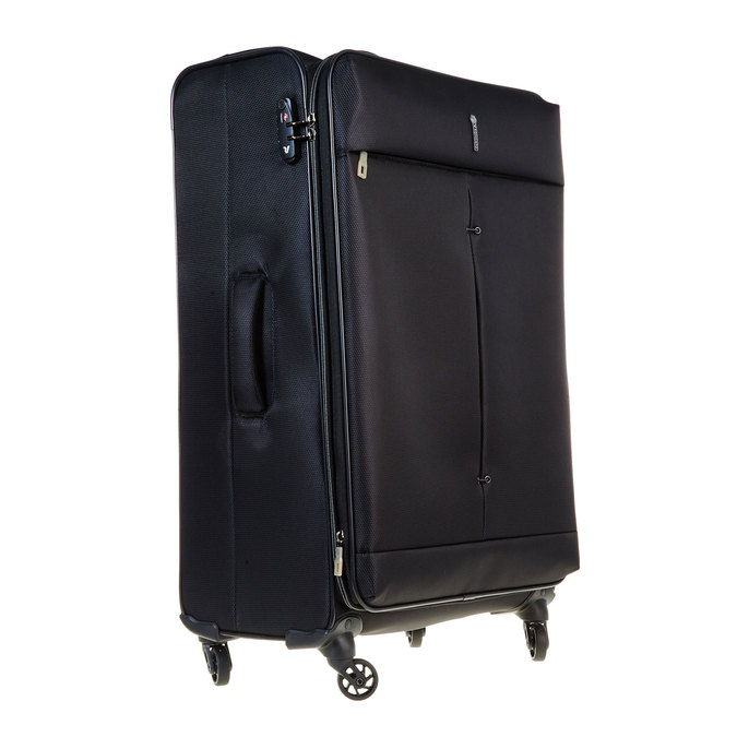 Cestovní kufr na kolečkách roncato, černá, 969-6636 - 13