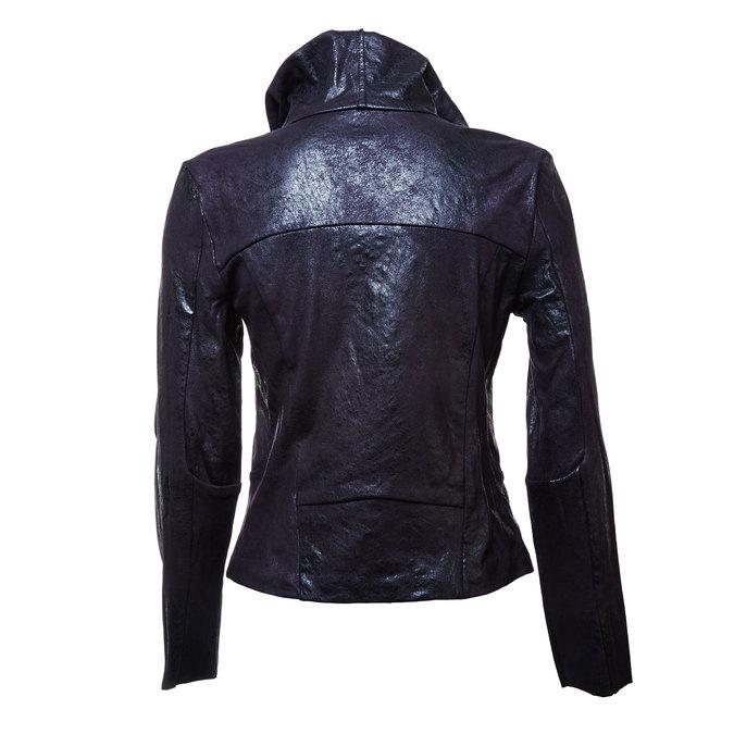 Dámské ležérní sako s límcem bata, černá, 979-6635 - 26