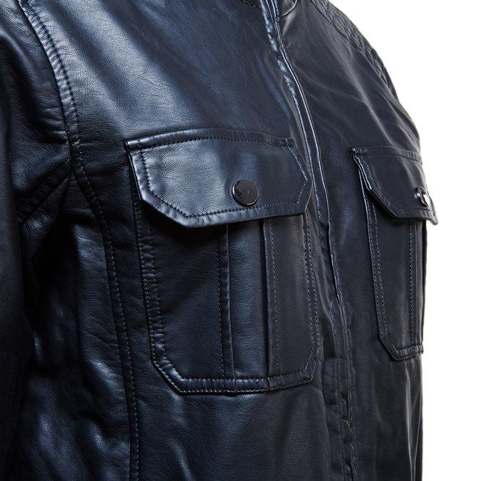 Pánská bunda s náprsními kapsami bata, černá, 971-6169 - 16