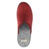 Dámská domácí obuv s plnou špicí bata, červená, 579-5602 - 19