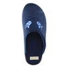 Dámská domácí obuv s výšivkou bata, modrá, 579-9603 - 19
