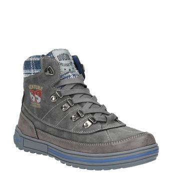 Dětská kotníčková obuv mini-b, šedá, 491-2651 - 13