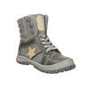 Dětská kotníčková obuv mini-b, šedá, 411-2602 - 13