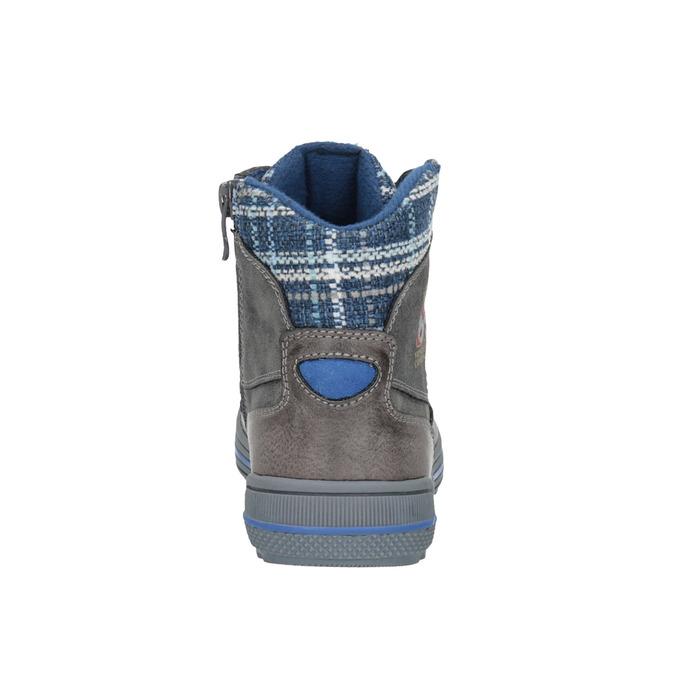 Dětská kotníčková obuv mini-b, šedá, 491-2651 - 17