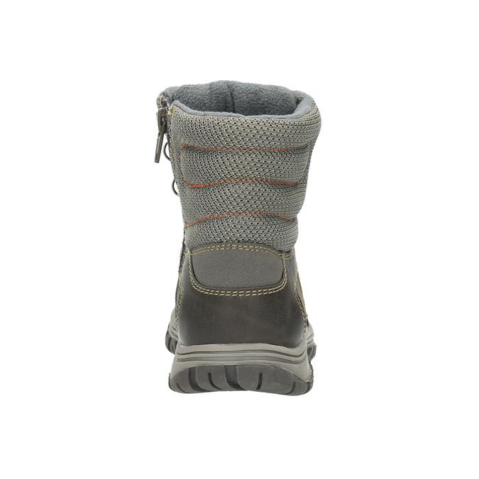 Dětská kotníčková obuv mini-b, šedá, 411-2602 - 17