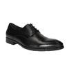 Černé kožené polobotky bata, černá, 824-6732 - 13