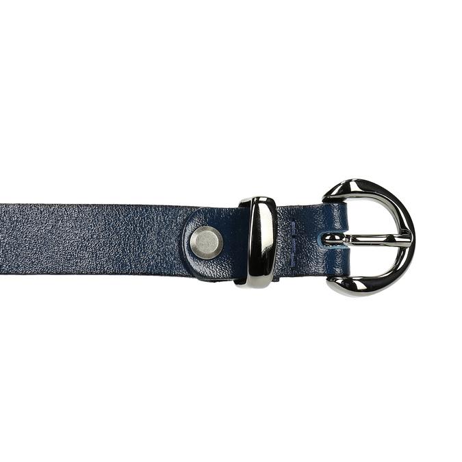 Dámský kožený opasek bata, modrá, 954-9100 - 26