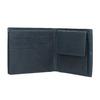 Kožená peněženka s prošíváním bata, modrá, 944-9176 - 15