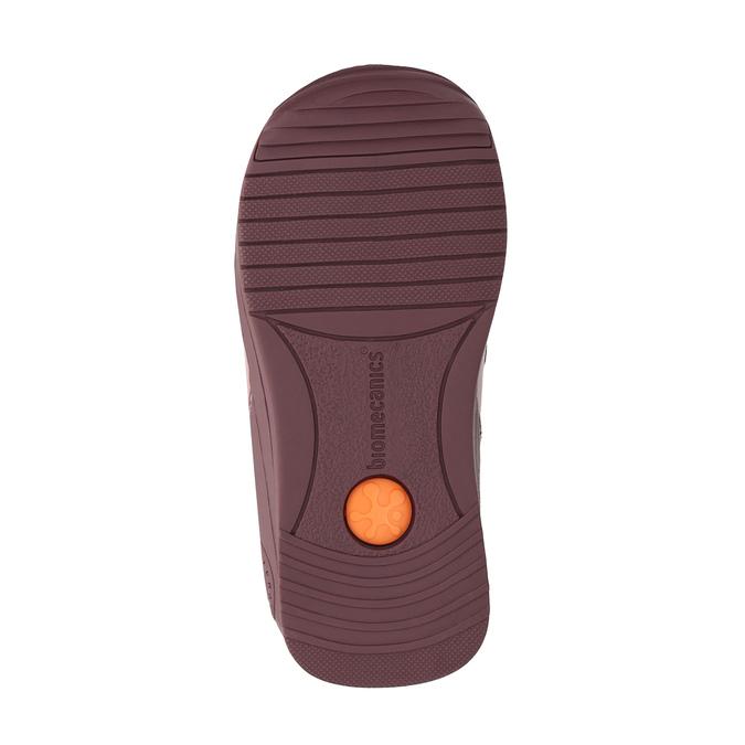 Dívčí kožená obuv na suché zipy biomecanics, růžová, 124-5010 - 26