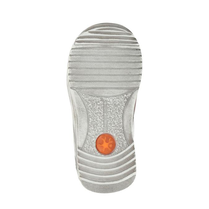 Dívčí kožená obuv na suché zipy biomecanics, růžová, 124-5006 - 26