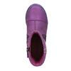 Kožená kotníčková obuv dívčí, fialová, 326-5008 - 19