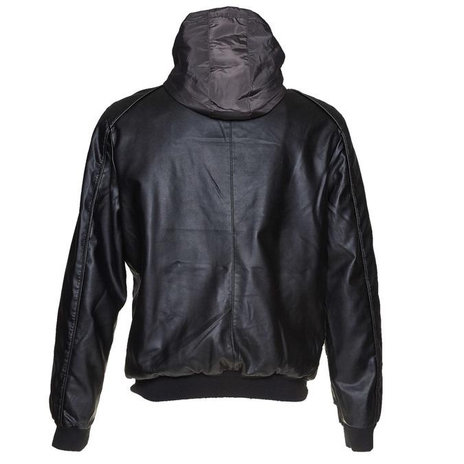 Pánská bunda s kapucí bata, černá, 971-6178 - 26