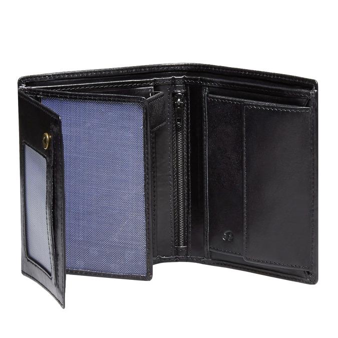 Kožená pánská peněženka bata, černá, 944-6121 - 15