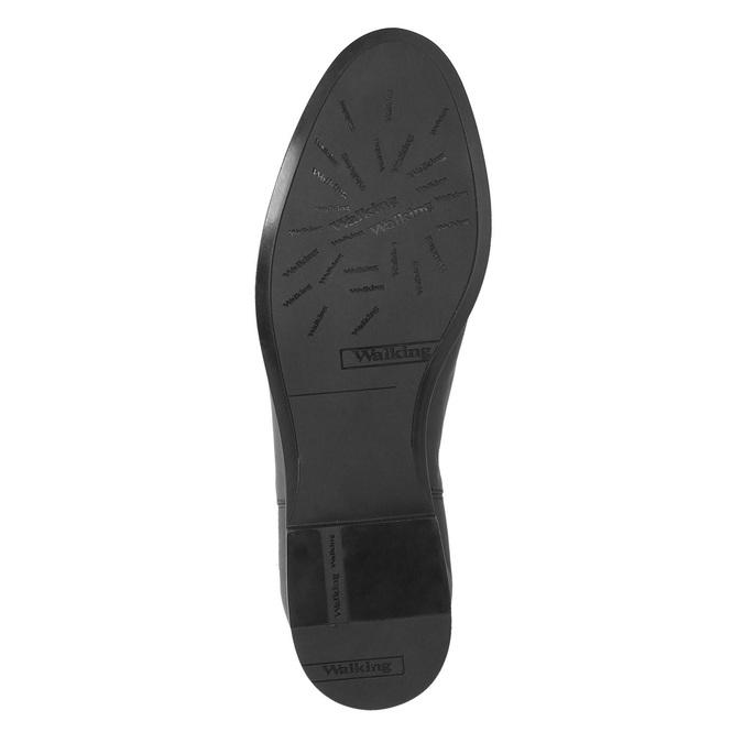 Dámské kožené kozačky ke kolenům bata, černá, 594-6605 - 26