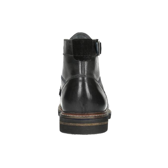 Pánská kotníčková obuv bata, černá, 894-6651 - 17