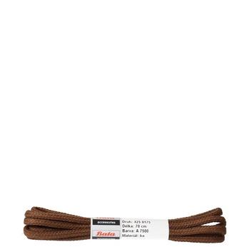 Tkaničky 70 cm bata, hnědá, 901-4752 - 13