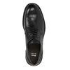 Pánské kožené polobotky bata, černá, 844-6627 - 19