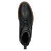 Kožená kotníčková zimní obuv bata, černá, 894-6659 - 19