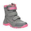 Dětská zimní obuv mini-b, šedá, 391-2100 - 13
