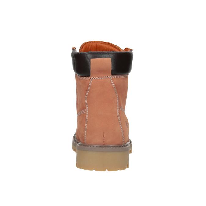 Dámská obuv ve stylu Worker Boots weinbrenner, oranžová, 596-5629 - 17