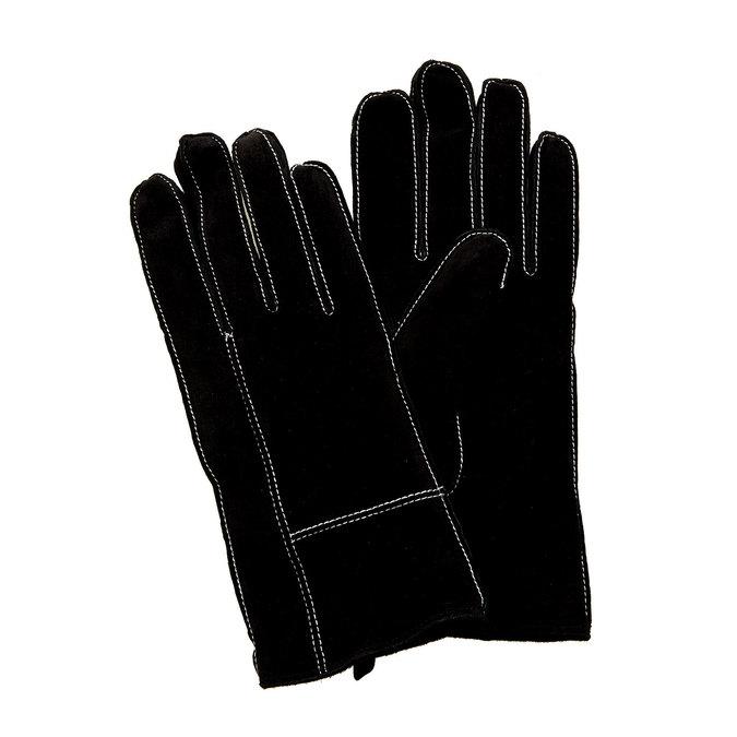 Dámské kožené rukavice v dárkové krabici bata, černá, 903-6102 - 13