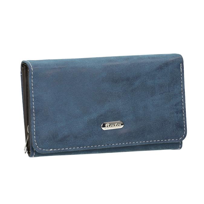 Dámská modrá peněženka bata, modrá, 941-9153 - 13