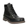 Pánská zimní obuv bata, černá, 896-6640 - 13