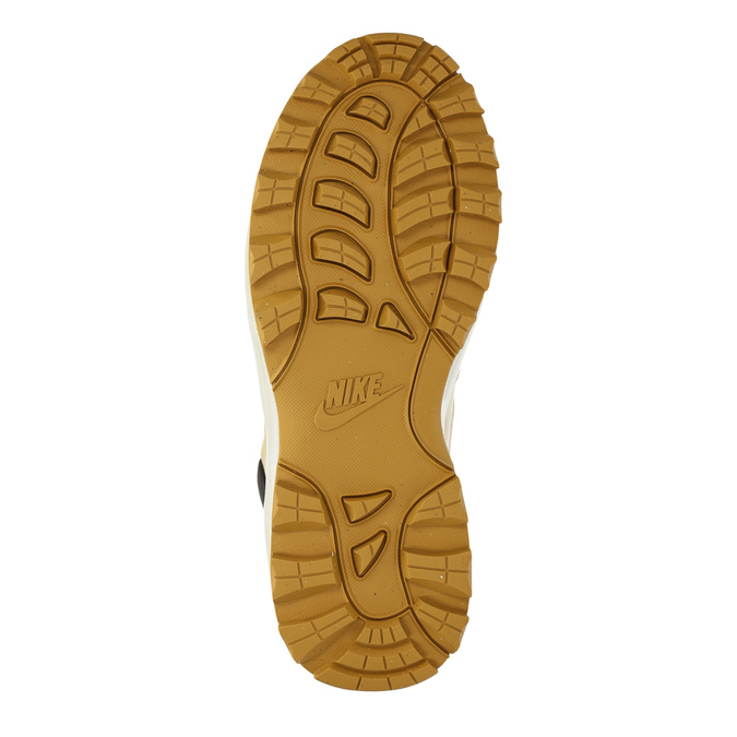 Kožená pánská kotníková obuv nike, hnědá, 806-8435 - 26