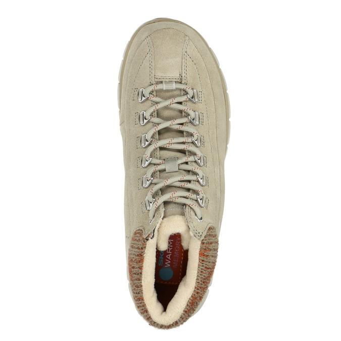 Dámská zimní obuv sportovní skechers, béžová, 503-3357 - 19