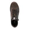 Dámské kožené kotníčkové tenisky bata, hnědá, 596-4613 - 19