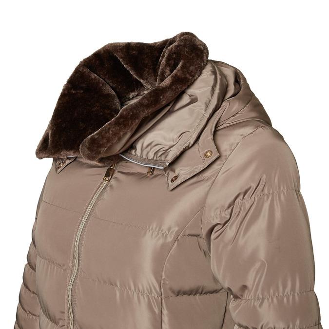 Delší zimní bunda bata, hnědá, 979-8649 - 16