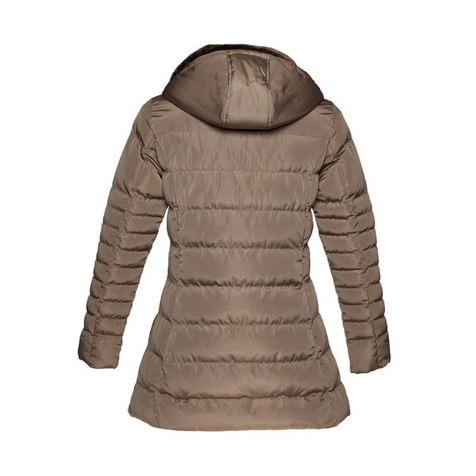 Delší zimní bunda bata, hnědá, 979-8649 - 26
