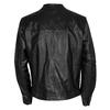 Pánská černá kožená bunda bata, černá, 974-6142 - 26