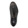 Celokožené polobotky s pleteným vzorem bata, hnědá, 826-4775 - 19