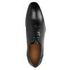 Černé celokožené Oxfordky bata, černá, 824-6788 - 19