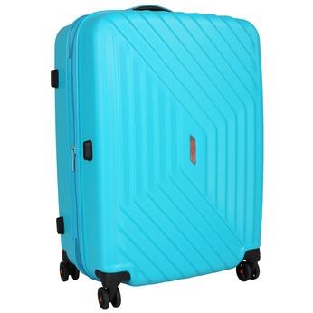 Skořepinový kufr na kolečkách american-tourister, modrá, tyrkysová, 960-9111 - 13