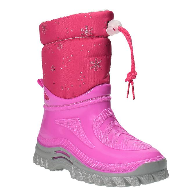 Dětská zimní obuv se zateplením mini-b, růžová, 292-5201 - 13